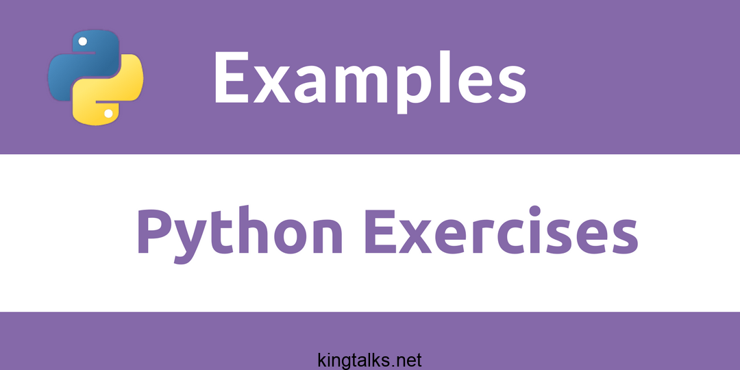 Photo of 100 Python Exercises: Evaluate And Improve Your Skills