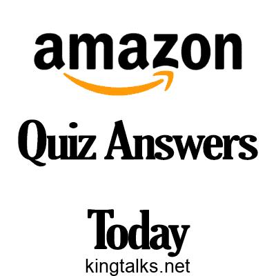 Photo of Amazon Quiz Answers
