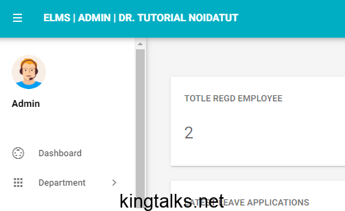 Photo of Employee Leave Management System in PHP