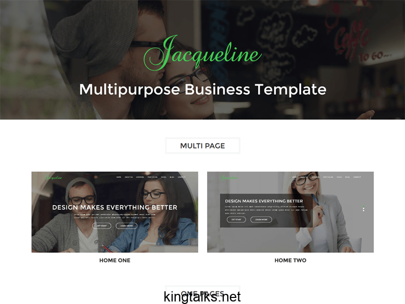 Photo of Multipage Business Html Templte Free Download