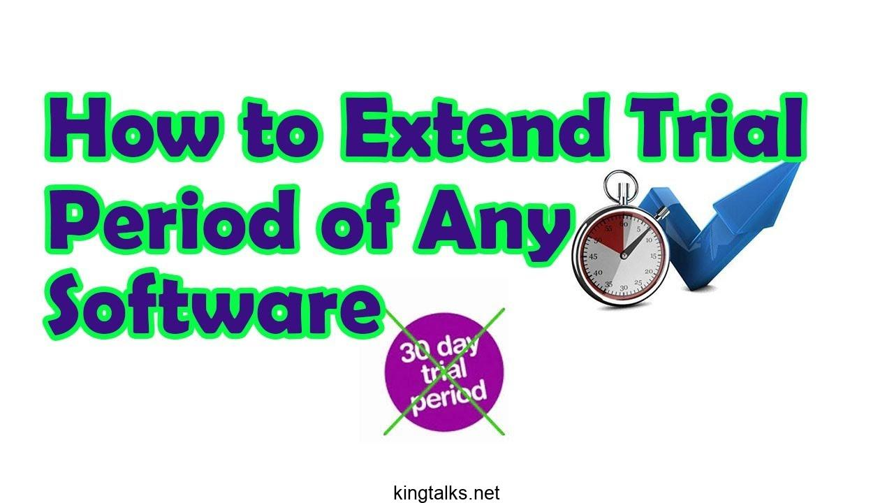 Photo of How To Reset Trial Period of Any Software and Use Them Lifetime in PC