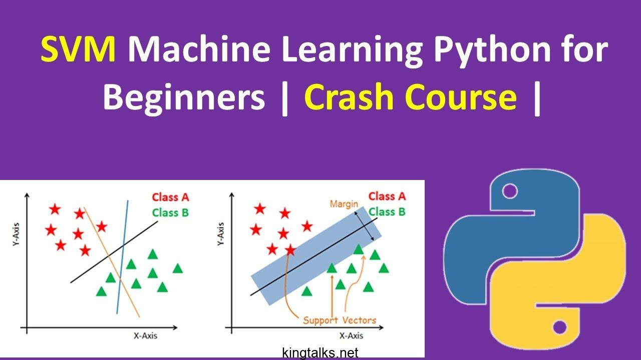 Photo of Support Vector Machines in Python – SVM in Python 2019 Course
