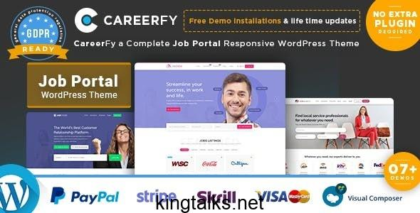 Photo of Careerfy – Job Board WordPress Theme v3.2.0