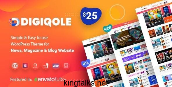 Photo of Digiqole – News Magazine WordPress Theme