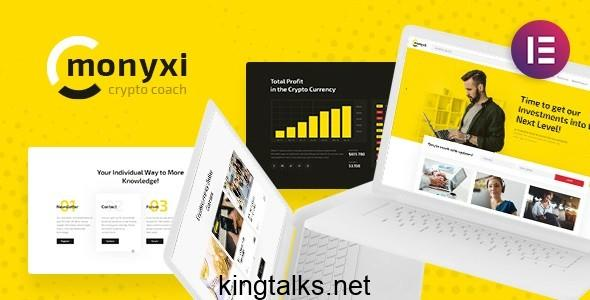 Photo of Monyxi | Cryptocurrency Trading Business Coach WordPress Theme