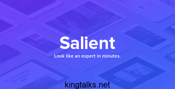 Photo of Salient – Responsive Multi-Purpose Theme