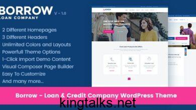 Photo of Borrow – Loan Company Responsive WordPress Theme v1.4.8