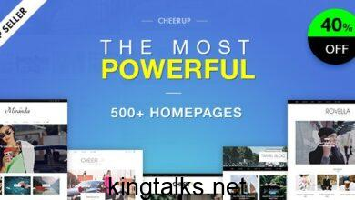 Photo of CheerUp Blog – Magazine – WordPress Blog Theme v7.0.4