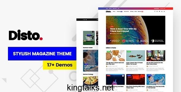 Photo of Disto – WordPress Blog Magazine Theme v1.6