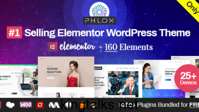 Photo of Phlox Pro – Elementor MultiPurpose WordPress Theme v5.2.22