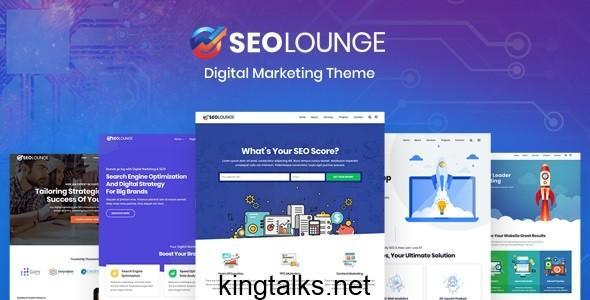 Photo of SEOLounge – SEO Agency WordPress Theme v2.2.2