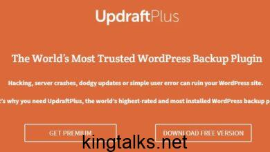 Photo of Updraft Plus – Premium WordPress Backup Plugin v2.16.27.24