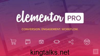 Photo of Elementor Pro v2.9.2