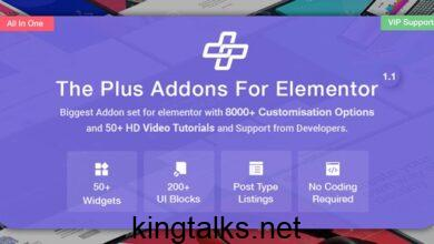 Photo of The Plus – Addon for Elementor Page Builder WordPress Plugin v3.4.0