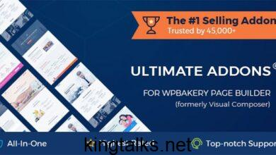 Photo of Ultimate Addons for WPBakery Page Builder v3.19.5