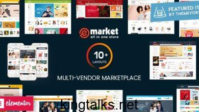 Photo of eMarket – Multi Vendor MarketPlace WordPress Theme v2.3.0