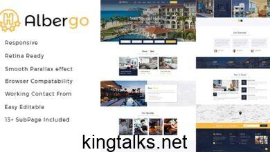 Photo of Albergo v1.0 – Hotel and Resort HTML5 Template