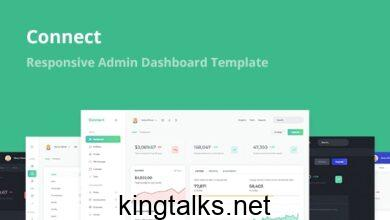 Photo of Connect v1.1 – Responsive Admin Dashboard Template