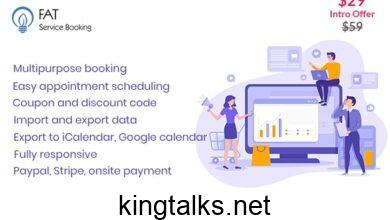 Photo of Fat Services Booking – Automated Booking and Online Scheduling v2.7