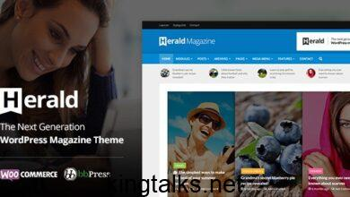 Photo of Herald – News Portal & Magazine WordPress Theme v2.2.4