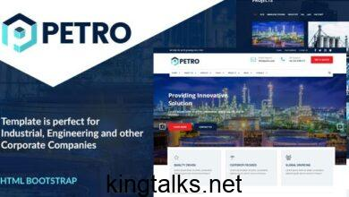 Photo of Petro v1.0 – Industrial HTML Template