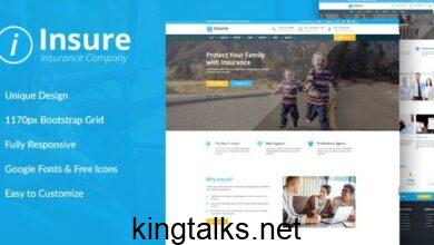 Photo of Insurance, Finance, & Business HTML Template