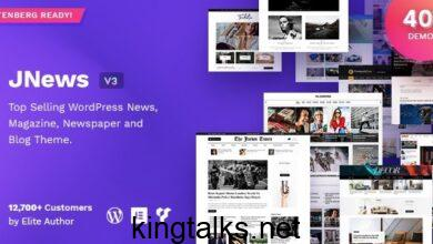Photo of JNews – WordPress Newspaper Magazine Blog AMP Theme v7.0.1