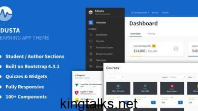 Photo of Edusta v1.1.0 – Learning App & Education Admin Theme