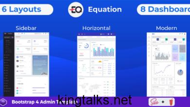 Photo of Equation v1.0 – Responsive Admin Dashboard Template