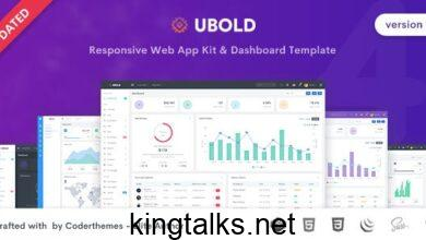 Photo of Ubold v4.0.1 – Admin & Dashboard Template