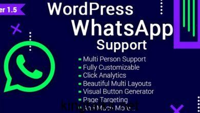 Photo of WordPress WhatsApp Support v1.9.2