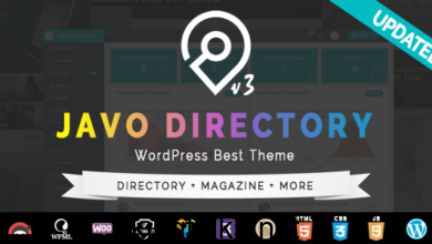 Photo of Javo Directory WordPress Theme v4.1.6