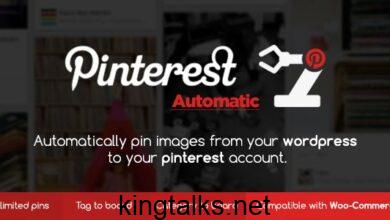 Photo of Pinterest Automatic Pin Wordpress Plugin v4.14.1