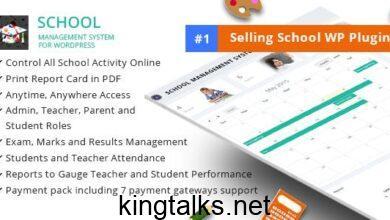 Photo of School Management System for Wordpress v65.0