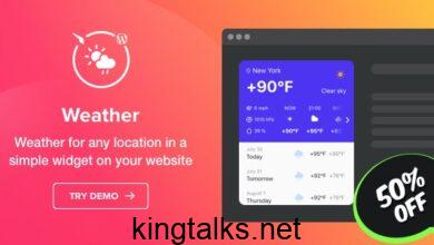 Photo of Weather Forecast – WordPress Weather Plugin v1.1.0