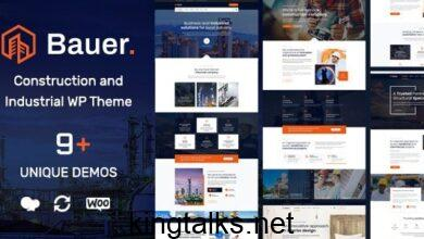 Photo of Bauer | Construction and Industrial WordPress Theme v1.6