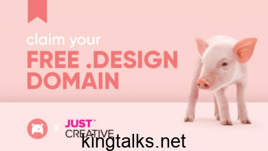 Photo of Get .Design Domain With Email Hosting Free For 1 Year