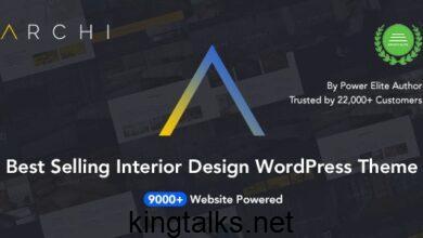Archi 4.3.6.3 - Interior Design & Architecture WordPress Theme