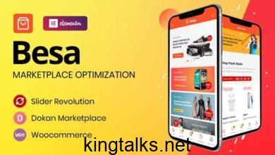 Besa 1.2.6 - Elementor Marketplace WooCommerce Theme