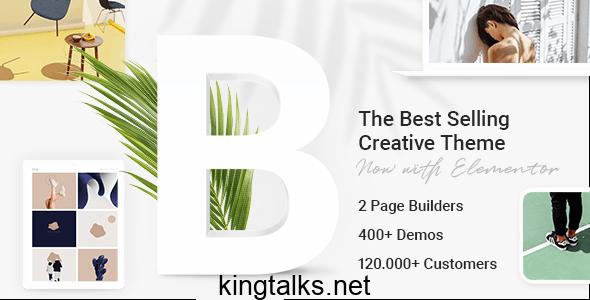 Bridge 24.5 Nulled - Creative Multipurpose WordPress Theme