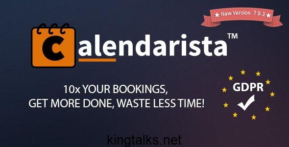 Calendarista 11.0 - Premium WordPress Booking Plugin