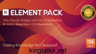 Element Pack v5.6.3 - Addon for Elementor Page Builder
