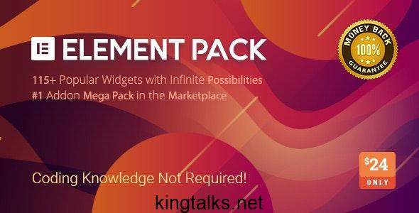 Element Pack v5.6.3 - Addon for Elementor Page Builder