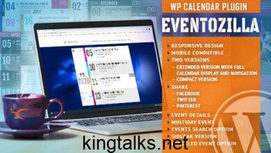 EventoZilla v1.3.1 - Event Calendar WordPress Plugin