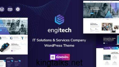 Engitech 1.2 - IT Solutions & Services WordPress Theme