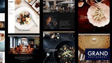 Grand Restaurant 5.9.4 Nulled - WordPress Theme
