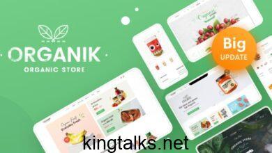 Organik 2.9.4 - Organic Food Store WordPress Theme
