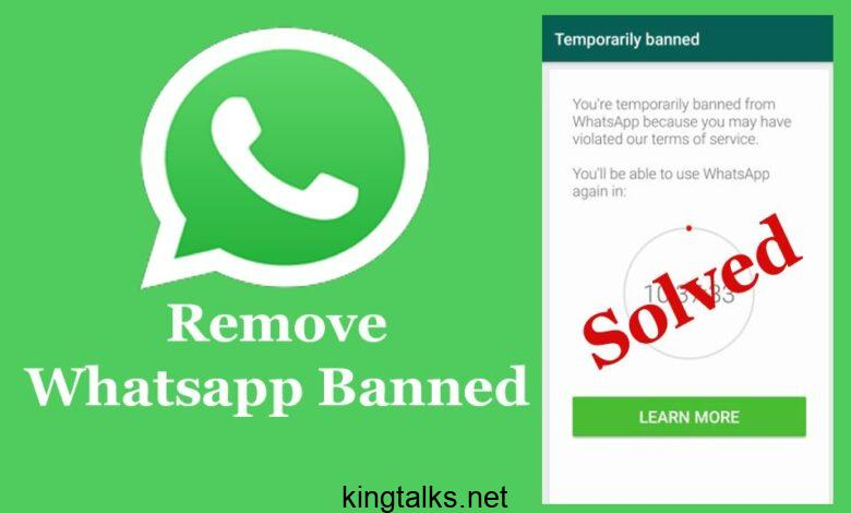 How to Fix Whatsapp Banned 2020? Remove Whatsapp Banned (Solved)