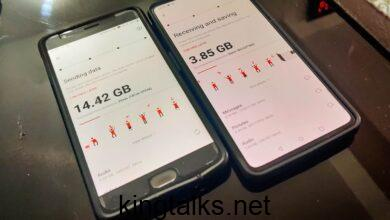 How to easily share files from one Android phone to another