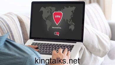 using a VPN on a laptop